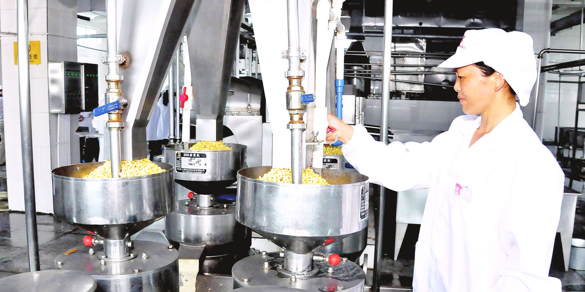 Food processing industry solutions